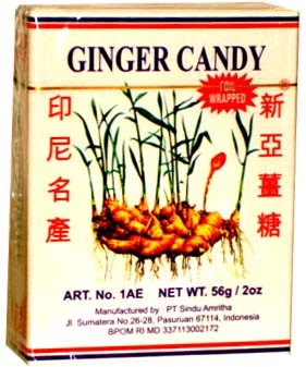 Ginger Candy 56g