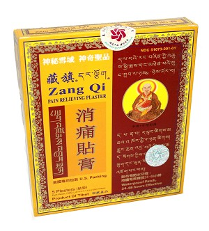 "Pain Relieving Plaster ""Zang Qi"""