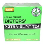 Nutra-Slim Tea Dieter's Regular Strength 30bags