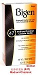 Medium Chestnut Bigen Hair Color #47 Refill